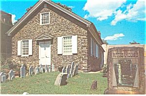 Philadelphia PA Germantown Mennonite Church Postcard p11633 (Image1)