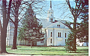 Lititz Pa Moravian Church Postcard P11636