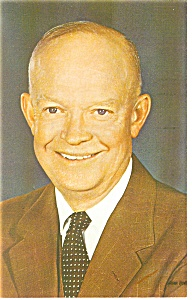 Dwight D. Eisenhower Postcard P11658