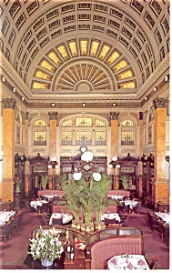 Pittsburgh  PA Grand Concourse Restaurant Postcard p11696 (Image1)