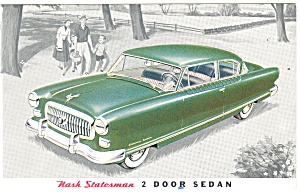 Nash Statesman 2 Door Sedan Postcard (Image1)