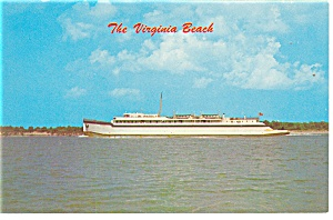 The Virginia Beach Ferry Postcard p11713 (Image1)