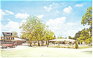 Lawley Fl Trail Motel And Restaurant Postcard P11717
