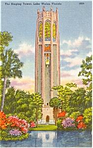 Singing Tower Lake Wales Florida  Postcard p1172 (Image1)