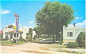 Glendale Motel Colorado Springs CO Postcard p11730 (Image1)