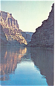 Cataract Canyon, Lake Powell, Utah Postcard 1966 (Image1)