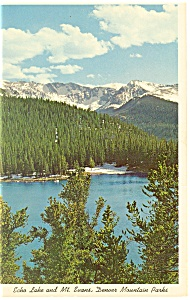 Echo Lake Denver Mountain Parks Co Postcard P11808