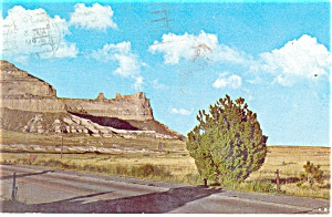 Saddle Rock,Scotts Bluff National Monument NE Postcard (Image1)