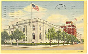 Newport News, VA, US Post Office Postcard (Image1)