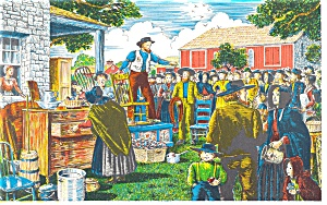 Pennsylvania Dutch Auction Postcard (Image1)