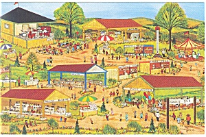 Pennsylvania Dutch Country Fair Postcard (Image1)