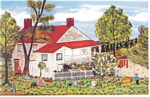 Schaefferstown,PA Farmstead Postcard (Image1)