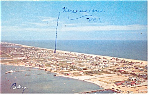 Aerial View of Dewey Beach, DE Postcard (Image1)