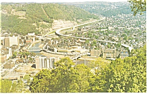 View of Johnstown PA Postcard p11889 (Image1)