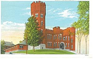 Amsterdam NY Armory Postcard p11905 1938 (Image1)