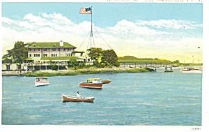 New Rochelle NY Yacht Club Postcard p11925 (Image1)