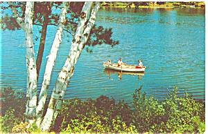 Rowboat Ride Postcard p11938 (Image1)