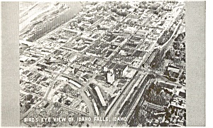 Idaho Falls Idaho Real Photo Postcard (Image1)