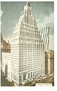 Paramont Building New York City Postcard p11965 1933 (Image1)