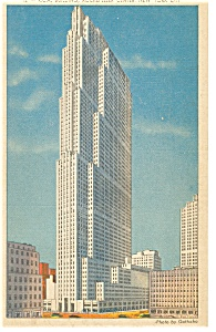 RCA Building New York City Postcard p11974 (Image1)