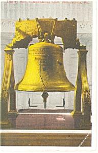Philadelphia PA Liberty Bell Postcard p12044 1916 (Image1)