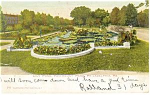 Philadelphia PA Fairmont Park Postcard p12048 1906 (Image1)
