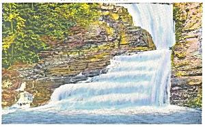 One of Winona Five Falls PA  Postcard p12052 (Image1)