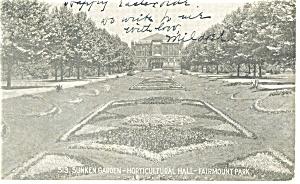 Philadelphia PA Fairmont Park Postcard p12056 1906 (Image1)