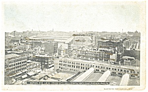 Philadelphia ,PA, View from City Hall Postcard ca 1905 (Image1)