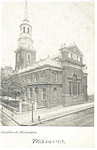 Philadelphia PA Christ Church Postcard p12063 ca 1907 (Image1)