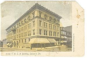 Lancaster PA YMCA Building Postcard  p12092 1919 (Image1)