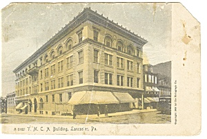 Lancaster, PA, YMCA Building Postcard 1919 (Image1)