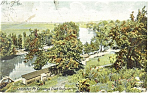Lancaster PA Conestoga Rocky Springs Postcard p12096 1907 (Image1)