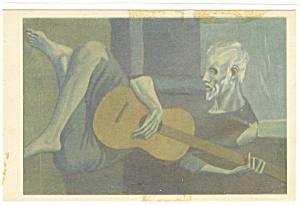The Guitarist, Pablo Picasso Postcard p12105 (Image1)