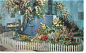 CA Artifical Flowers, Providence, RI Postcard 1954 (Image1)