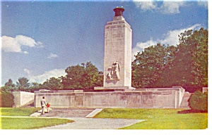 Eternal Light Memorial Gettysburg PA Postcard p12143 (Image1)