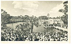 Tarpon Springs FL Cross Day Postcard p12238 (Image1)