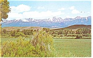 Crazy Mountains of Montana Postcard p12254 (Image1)
