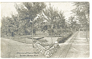 Benton Harbor, MI House of David Park Postcard (Image1)