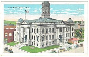 Pontiac, MI , Court House Postcard (Image1)