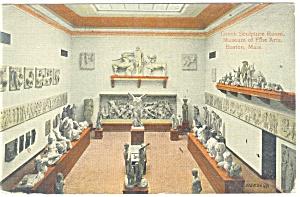 Boston MA Museum Fine Arts Postcard p12315 1914 (Image1)