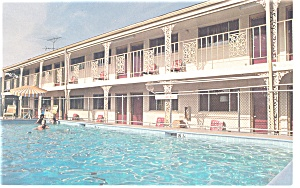 Williamsburg Va Econo Lodge No 1postcard P12327
