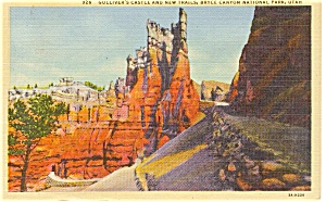 Bryce Canyon National Park Utah Postcard P1241