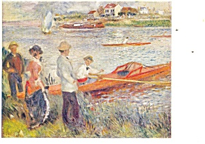 Oarsmen at Chatou, Renoir Postcard (Image1)