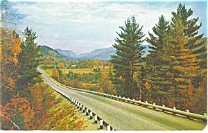 Mississippi Highway Scene Postcard p12447 ca 1950 (Image1)