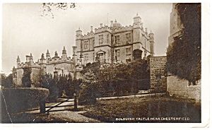 Bolsover Castle, UK Real Photo Postcard ca 1910 (Image1)
