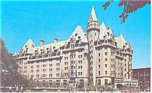 Ottawa Canada The Chateau Laurier Hotel Postcard p12544 1967 (Image1)