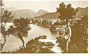 Sorrento Italy Water Scene Postcard p12559 (Image1)