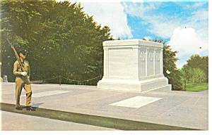 Tomb of the Unknown Soldiers Postcard (Image1)