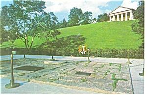 JFK Grave Site, Arlington,VA Postcard (Image1)